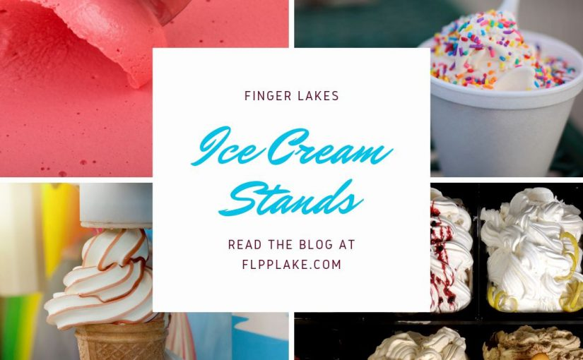 Finger Lakes Homemade Ice Cream Stands