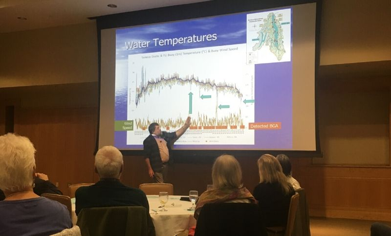 presenter at the 2019 Water Quality Forum in Geneva, NY