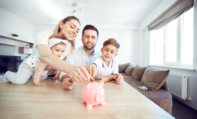 Family saving for real estate