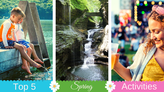 Top 5 Spring Activities in the Finger Lakes