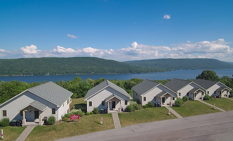 cottages on finger lakes, group rentals for finger lakes weddings