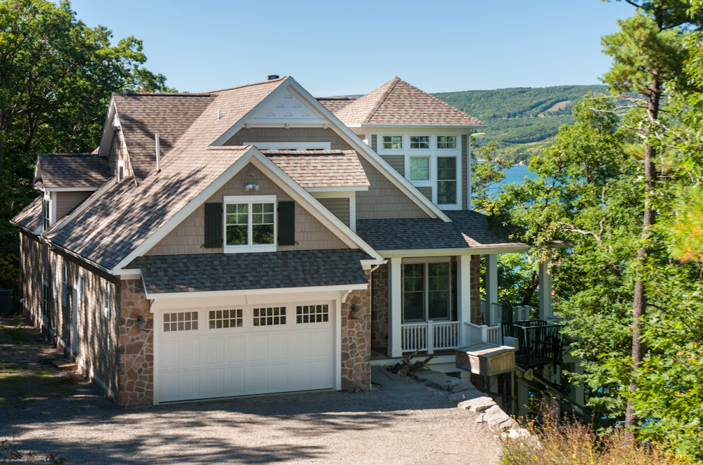 finger lakes vacation rental with waterfront view