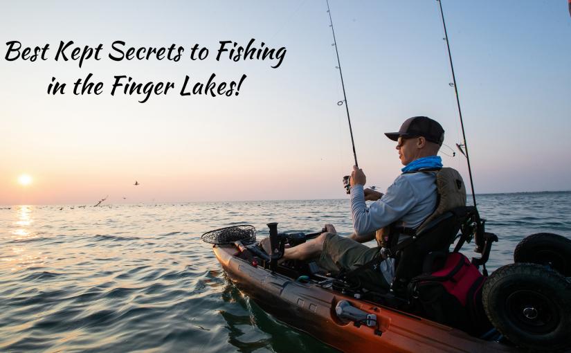 Best Kept Secrets of Fishing in the Finger Lakes!