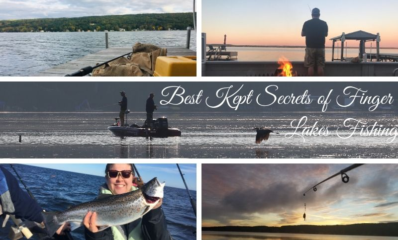 Best Kept Secrets of Fishing in the Finger Lakes!