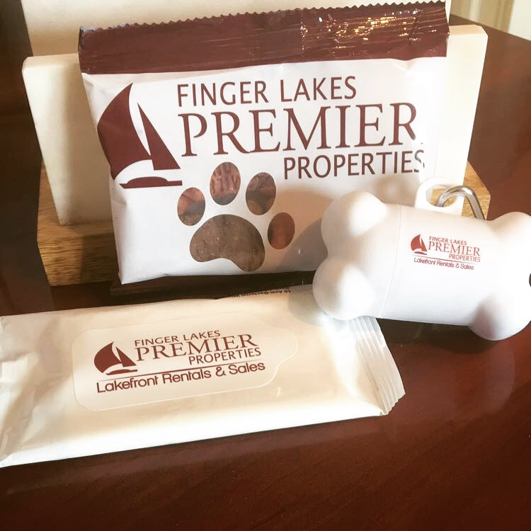 pet friendly rentals finger lakes welcome bag